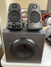 Logitech 980-001258 Z625 45W THX Sound 2.1 Speaker System - Black