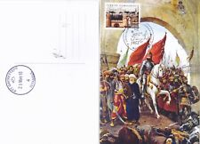 2018 Turkey Fatih Sultan Mehmed Conqueror Istanbul Maximum Card FDC Islam Flag 1