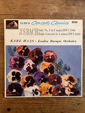Bach Suite No.1 Karl Haas London Baroque HMV Concert Classsics MONO XLP 20057
