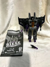 Transformers Generations Siege Skywarp Decepticon Phantomstrike Squadron