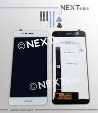 Schermo Display touch screen Asus Zenfone 3 MAX ZC520TL X008D bianco + kit