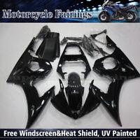 Fairing Kit For Yamaha YZF R6 2003-2004 / R6S 2006-2009 07 08 Black ABS Bodywork