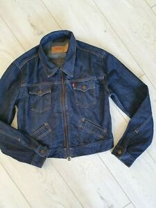 Original Levi's Girls Denim Jacket Size M Fab!