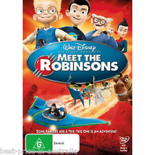 Meet The Robinsons DVD WALT DISNEY Family Movie BRAND NEW R4