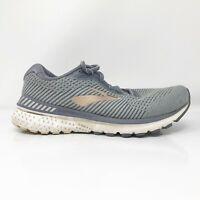 Brooks Womens Adrenaline GTS 20 1202961D073 Gray Running Shoes Size 8.5 D