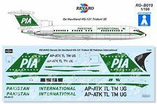 Revaro Decal HS-121 Trident 2E Pakistan International  Veb Plasticart 1/100
