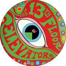 CHAPA/BADGE 13th FLOOR ELEVATORS . pin button roky erickson seeds love standells