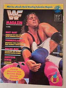 WWF Wrestling Magazin 11/1992 November - VINTAGE!