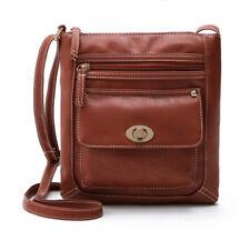 AU Women's Shoulder Bag Tote Satchel Cross Body Leather Handbag Messenger Purse