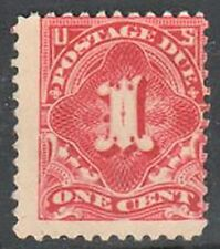 SC#J61 1917 1c Postage Due Single Perf 11 MNG
