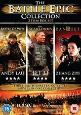 The Battle  3 Disc Collection (The Warlords/The Banquet/Battle of Wits) [DVD]