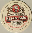 alter Bierdeckel HASENBRÄU, Augsburg 🍺 H-4-1