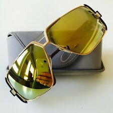 vintage CAZAL 951 gold W.Germany rare mirror sunglasses 1980s 90s HipHop BBoy