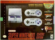 Nintendo Mini Entertainment System: Super NES Classic Edition 21 GAMES US