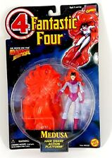Toy Biz / Marvel Action Figure / Medusa / Hair Snare Action Platform / New