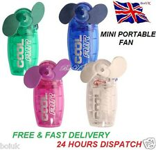 BLACK FRIDAY MINI PORTABLE POCKET FAN COOL AIR HAND HELD BATTERY TRIP COOLER NEW