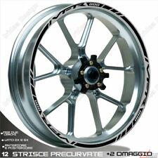 Trims Wheel Stickers Sport Honda VFR 750 800 1200 Black