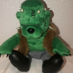 VINTAGE Meanies Grisly Grizzlies HALLOWEEN '99 - FRANKENBEAR