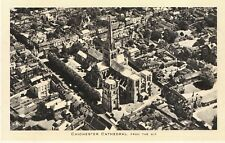 Sussex Postcard - Chichester Cathedral from The Air - Raphael Tuck - Ref ZZ4486