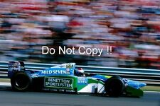 Jos Verstappen Benetton B194 Hungarian Grand Prix 1994 Photograph