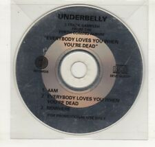 (HN593) Underbelly, 3 track sampler - DJ CD