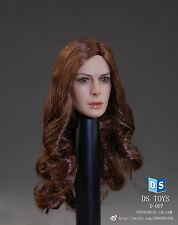 """DSTOYS D007 1/6 Female European Headsculpt Model Collection F 12"""" Action Figure"""