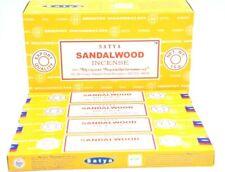 Original Satya Nag Champa Sandalwood scent dhoop Incense Sticks Agarbatti 12Pk