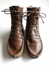 TRIPPEN Germany - Medieval Lace-up PENNA Boots TRIBE f waw brown EU37 US6 UK4.5
