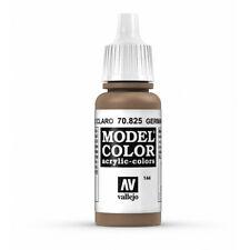 Vallejo Model Color: German C Pale Brown VAL70825 Acrylic Paint 17ml Bottle 144