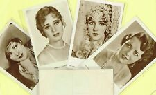 ROSS VERLAG - 1930s Film Star Postcards produced in Germany #5121 to #5214