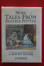 MORE TALES FROM BEATRIX POTTER by Beatrix Potter (Hardcover/DJ, 1986)