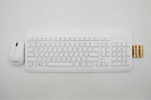 Genuine Lenovo IdeaCentre 3-24IIL5 Wireless Keyboard & Mouse US White 01AH696