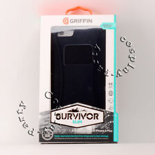 Griffin Survivor Slim Protective Case for iPhone 6 Plus iPhone 6s Plus Black