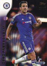 2015 Topps Premier Gold Cesc Fabregas (Chelsea) Purple 25/50