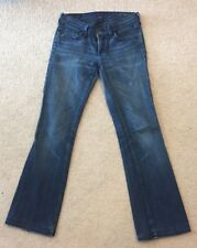 citizens of humanity 26 Womens Jeans INGRID Low Waist Flare 29 Inseam Distressed