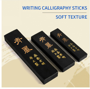 Calligraphy Ink Block Stick Pine Soot Traditional Writing Painting Art Brush