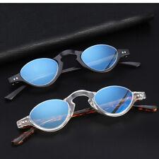 Anti Blue light Half-rim Oval Round Reading glasses Transparent Clear frames