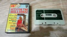 (C9) K7 Cassette Audio - HITS FOR THE MILLIONS 10CC/Big Mouth/Kraftwerk/Shaffy
