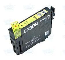 Genuine Epson 200 Yellow Ink Cartridge T200 XP200 XP300 XP400 WF2530 WF2540