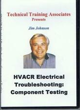 HVACR ELECTRICAL TROUBLESHOOTING: COMPONENT TESTING