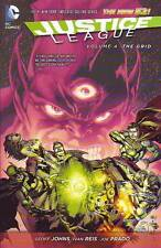 Justice League Vol 4 The Grid trade paperback DC New 52 Johns Reis