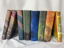 HARRY POTTER Complete Hardcover Book Set 1-7 & Cursed Child J.K. Rowling