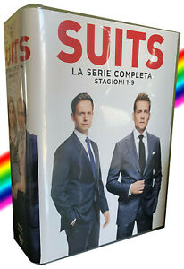 Suits serie TV complete in DVD (no Bluray)