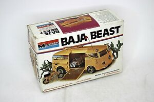 MONOGRAM Baja Beast van Tom Daniel 1:25 Scale Vintage Model Kit Open Box Started