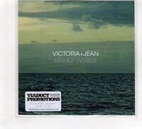 (HF537) Victoria + Jean, Harligt Sverige - 2016 DJ CD