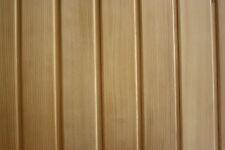 Profilholz Hemlock Profilbretter Sauna Holz Saunaholz Saunalatten 16x96x2440mm