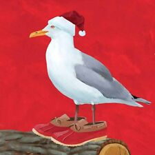 """PPD """"Stanley the Seagull"""" Beach Paper Cocktail/Beverage Napkins"""