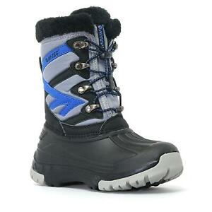 HI-TEC AVALANCHE JR - Kids Winter / Walking Boots Size J10 UK - EU 29. New