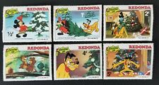 Redonda 1981 Disney Pluto's Christmas Tree MH SC#----- Set of 6