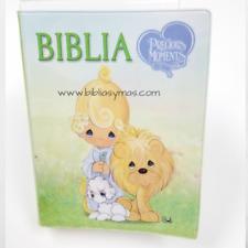 BIBLIA INFANTIL PRECIOSOS MOMENTOS REINA VALERA 1960 COMPACTA